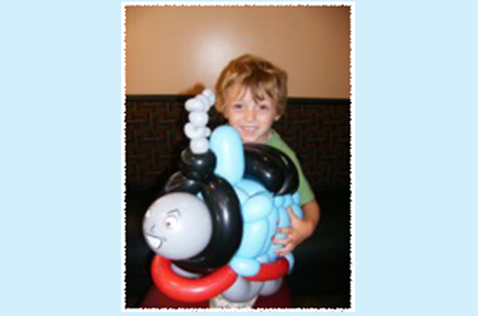 Thomas the Tank Balloon
